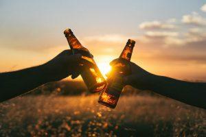 Cerveza para compartir - la Cerveza engorda