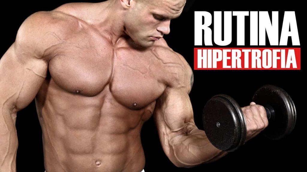 Rutina de hipertrofia HST Ganar masa muscular