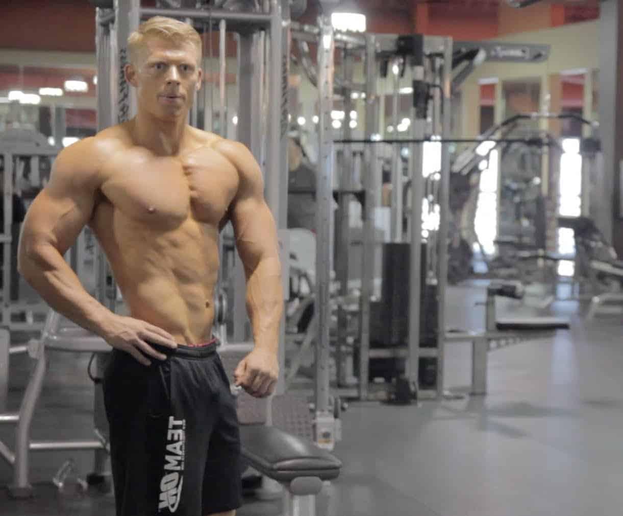 nick olsen ganar masa muscular