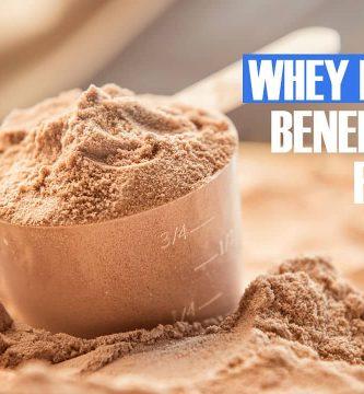 Whey Protein Beneficios y efectos secundarios