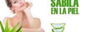 Beneficios de la sábila en la piel