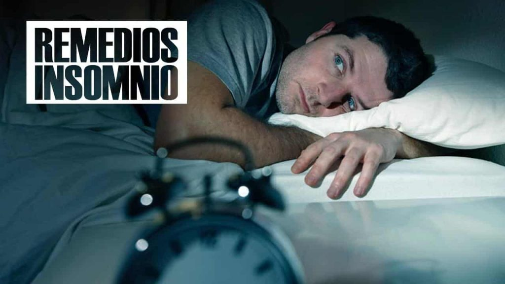 Remedios caseros para el insomnio