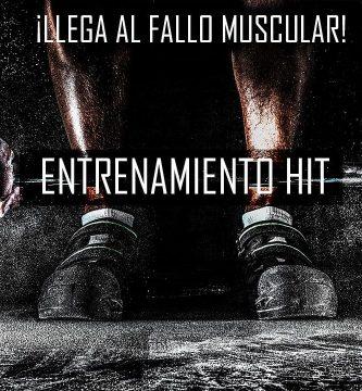 Entrenamiento HIT para ganancia de fuerza y músculo