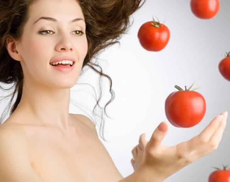 mascarilla de tomate para la cara
