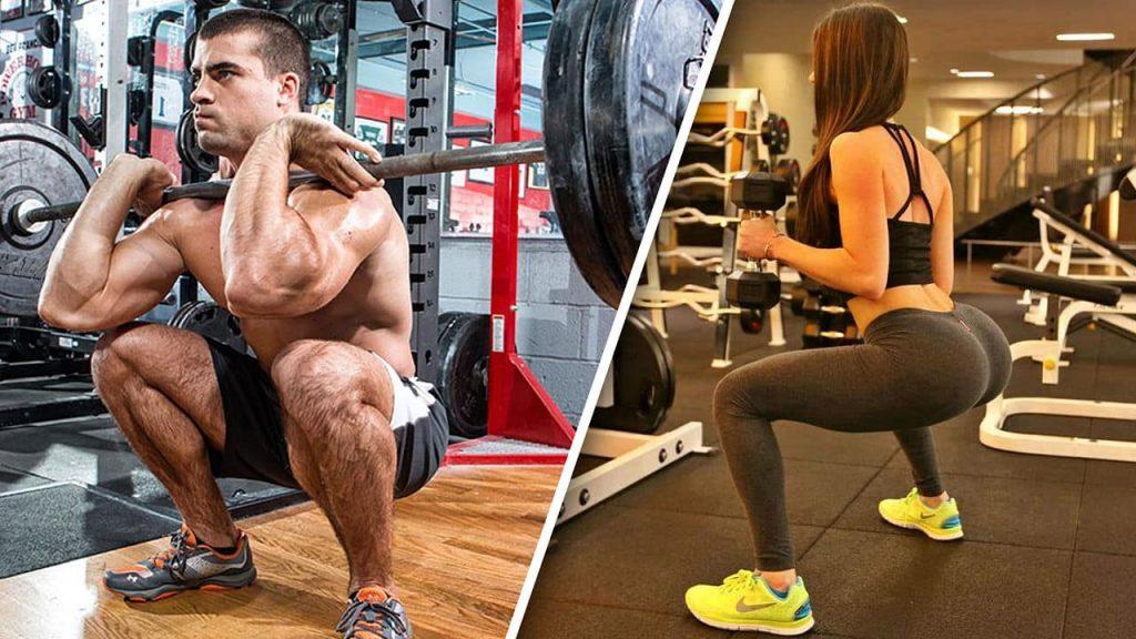 Rutina torso pierna típica para cualquier nivel