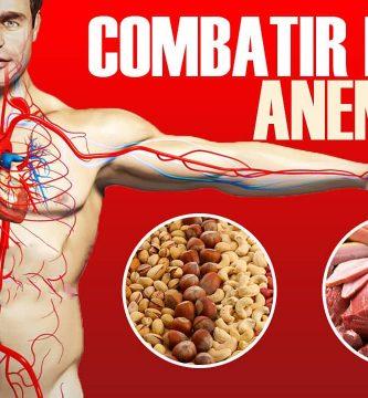 ALIMENTOS para combatir la anemia