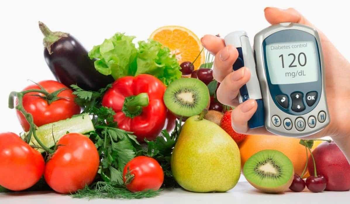 alimentos para diabéticos frutas y verduras