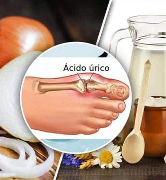 alimentos para bajar el acido urico