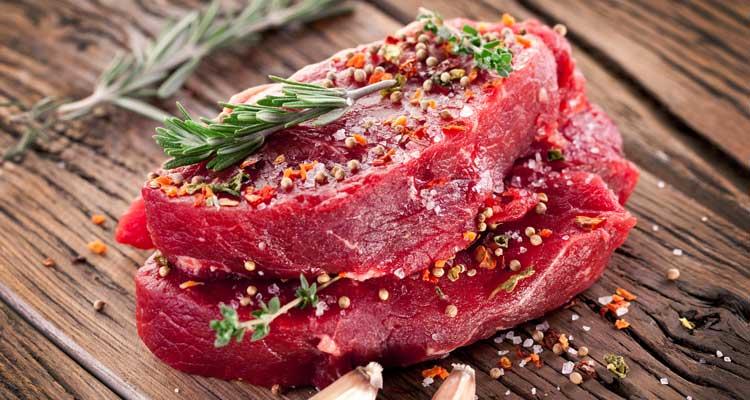 carne roja para subir la presión arterial rápido