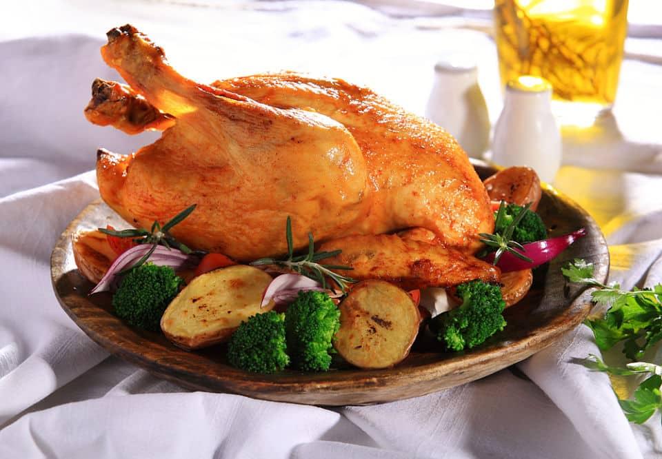 Pollo rica fuente de proteínas