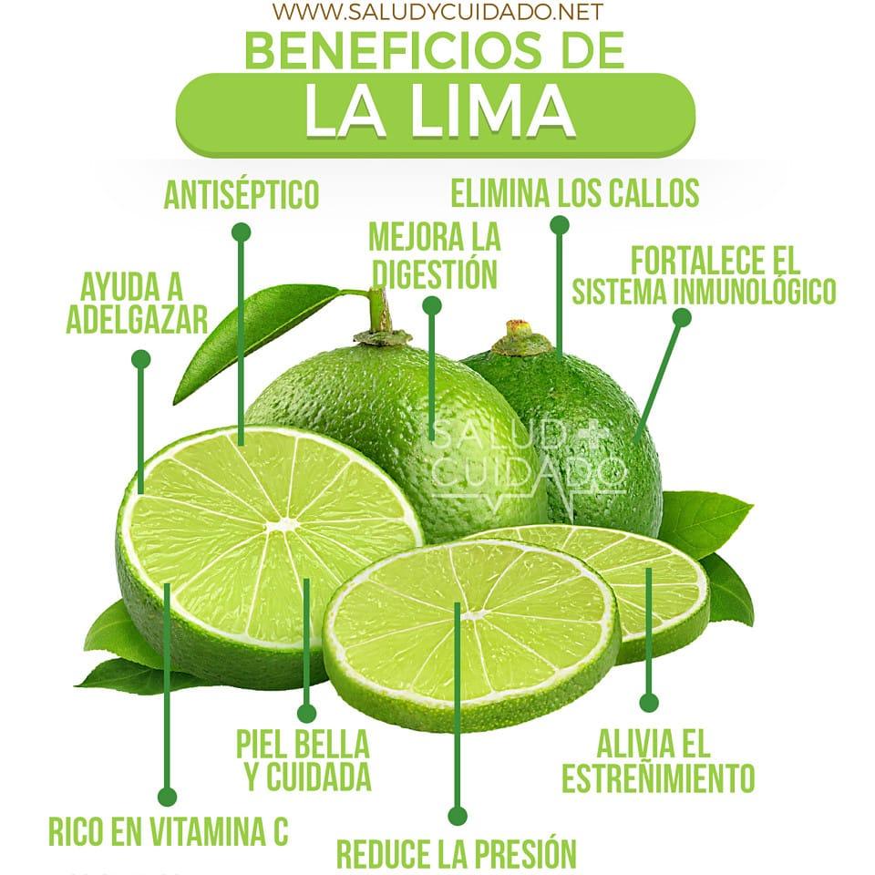 Beneficios de la LIMA fruta