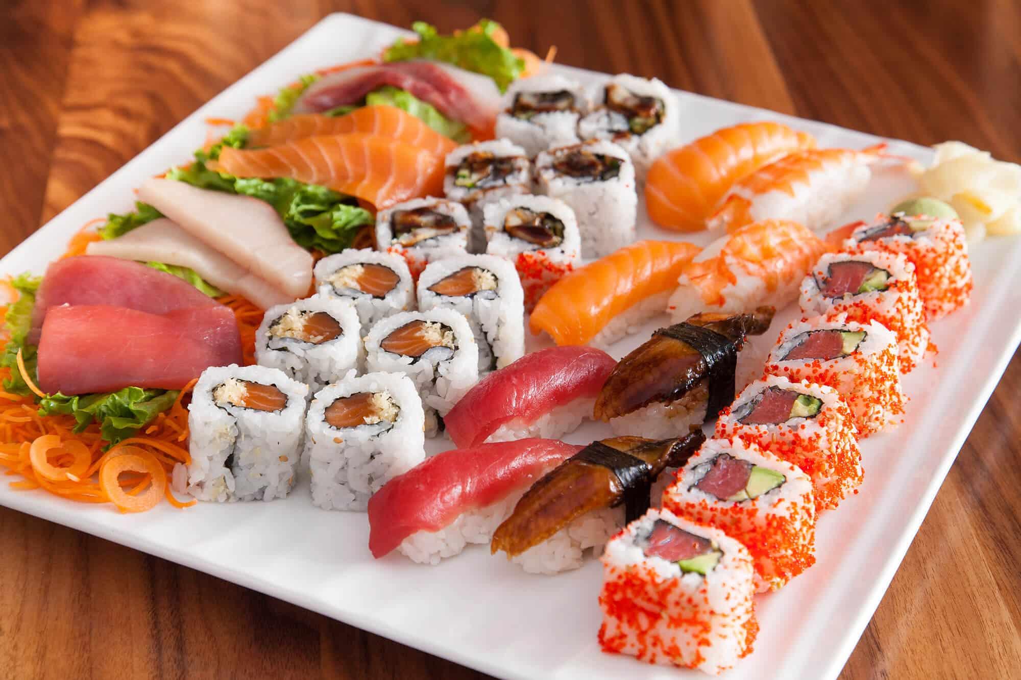Sushi ideal para el hipotiroidismo