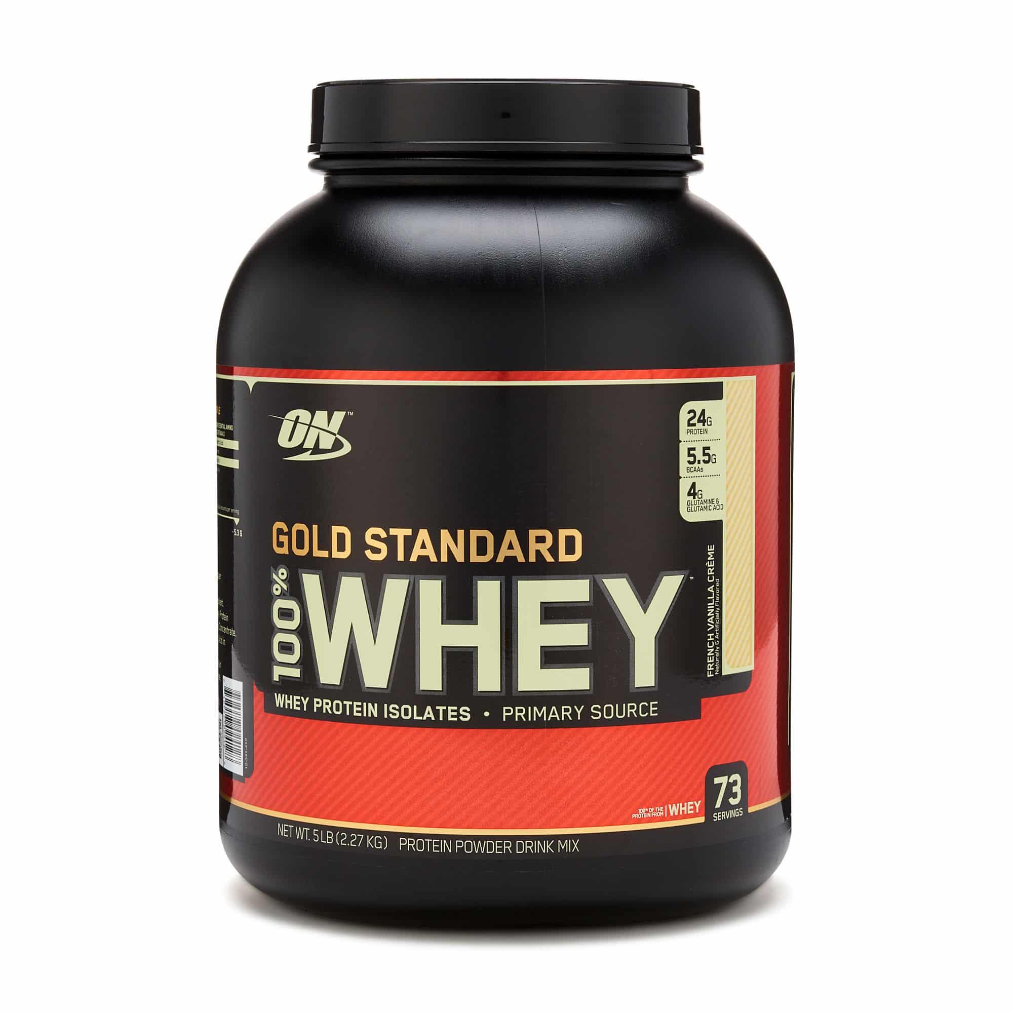 Whey Protein para aumentar masa muscular