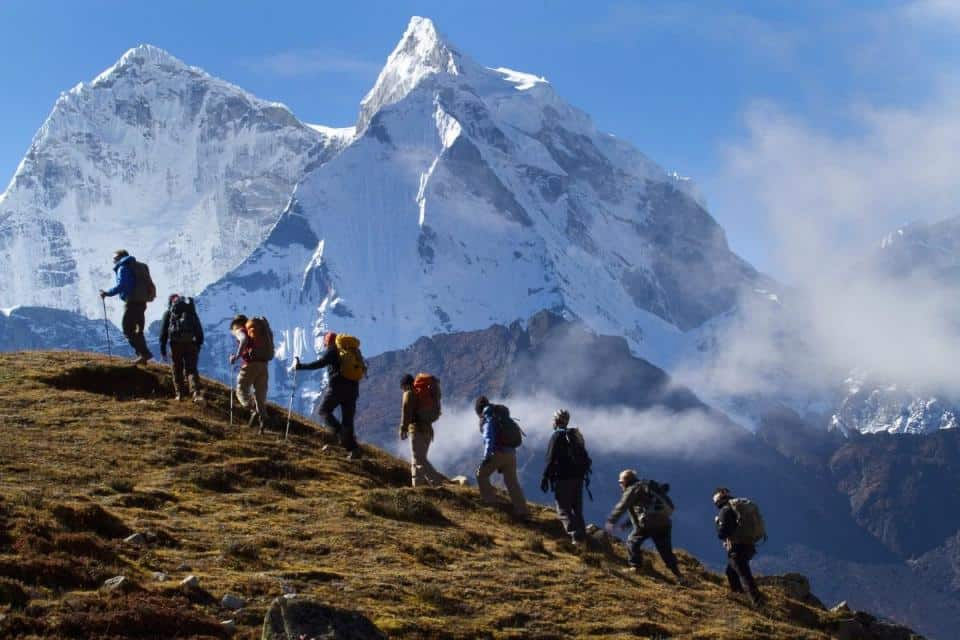 Subir montañas