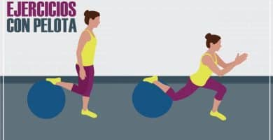 ejercicios con pelota