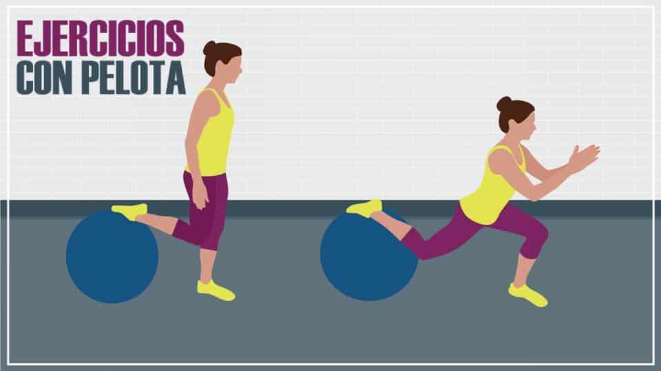 6 Ejercicios con pelota para perder peso y tonificar los músculos 65c6518258f2