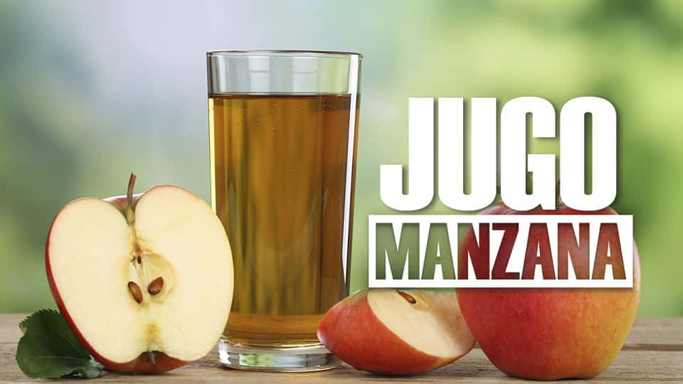 Beneficios del jugo de manzana natural