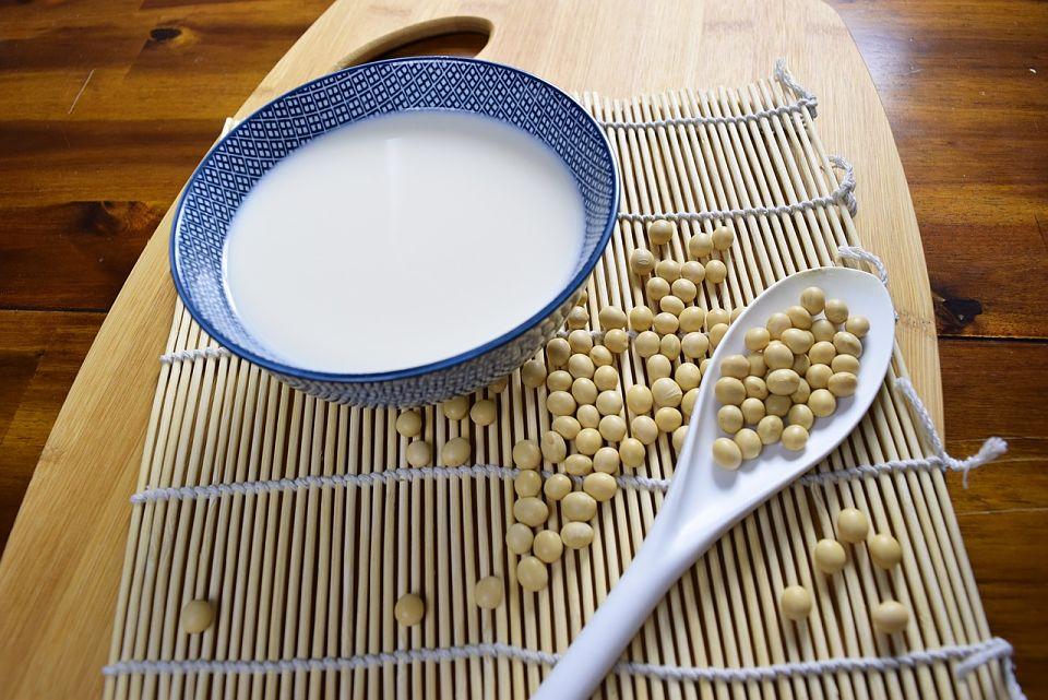 leche de soya propiedades