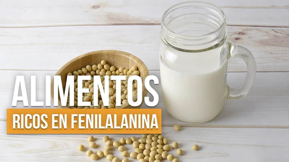 alimentos con fenilalanina