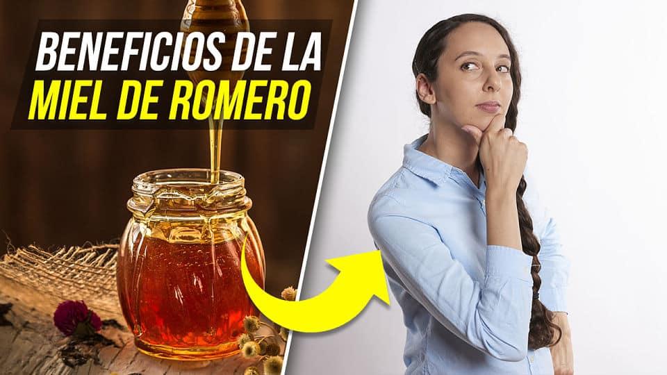 BENEFICIOS DE LA MIEL DE ROMERO