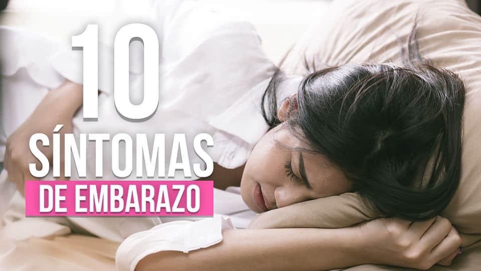 10 Primeros síntomas del embarazo ¿Estoy EMBARAZADA?