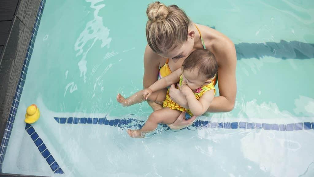 Natacion para bebés ¿Cuándo comenzar y por qué hacerlo o no?