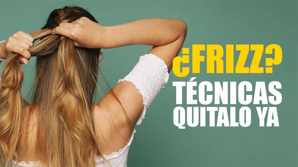 5 Técnicas para quitar el frizz del cabello de forma natural